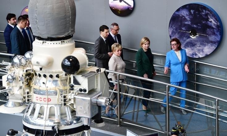 Музей космонавтики еще раз открыли - торжественно и с участием высоких гостей