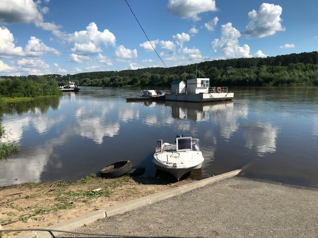 Калужанин утонул в Оке в районе понтонного моста