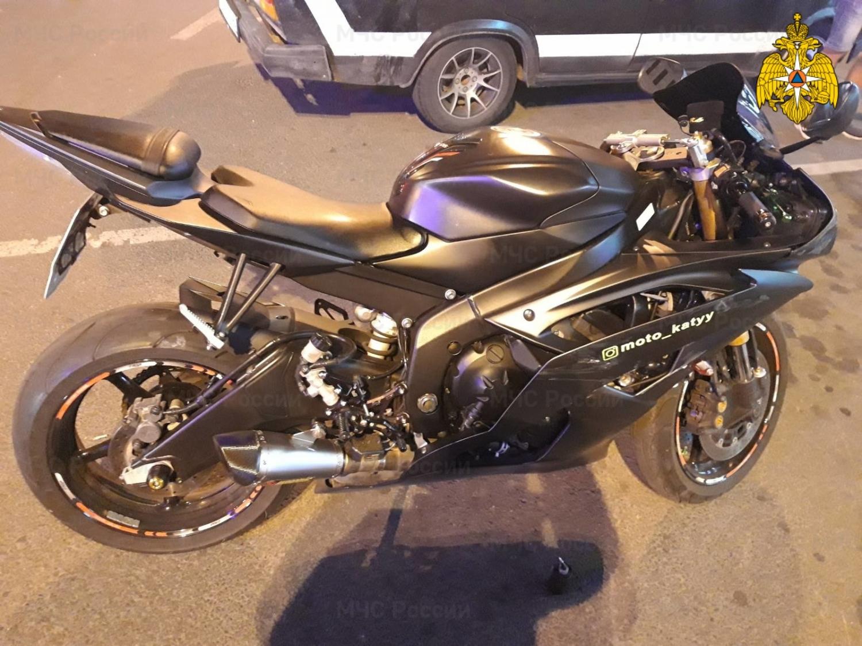 19-летняя калужанка на Жигулях сбила мотоциклистку на Кирова
