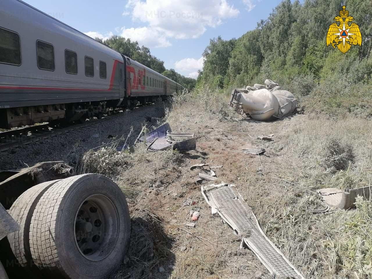 Пострадали несколько пассажиров поезда, сошедшего с рельс под Калугой