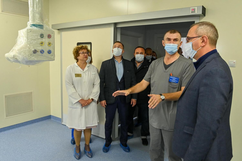 Строящийся в Грабцево госпиталь для больных COVID-19 готов на 95%
